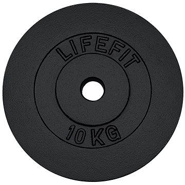 Kotouč Lifefit 10 kg / tyč 30 mm (4891223097641)