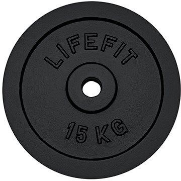 Kotouč Lifefit 15 kg / tyč 30 mm (4891223097658)