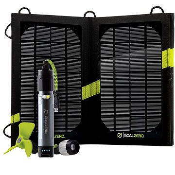 GoalZero Switch 10 Solar Recharging Kit (Micro USB) (847974003213)