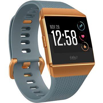Chytré hodinky Fitbit Ionic Slate-Blue, Burnt Orange (FB503CPBU-EU)