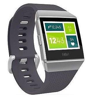 Chytré hodinky Fitbit Ionic Blue-Gray Silver-Gray (FB503WTGY-EU)