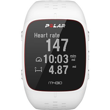 Sporttester Polar M430 White (725882038780)