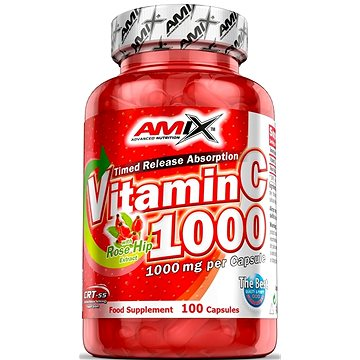 Amix Nutrition Vitamin C 1000mg, 100cps (8594159532601)