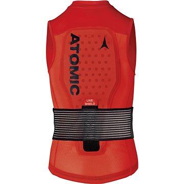 Atomic Live Shield Vest Jr Red
