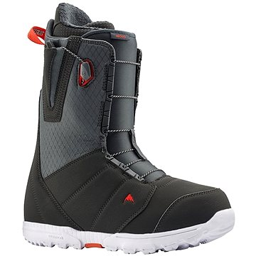 Burton MOTO GRAY/RED vel. 44 EU/ 290 mm (10436106081D)