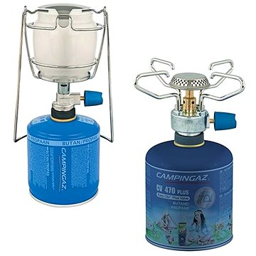 Campingaz Bleuet micro plus + CV 470 plus + Campingaz Lumogaz Plus