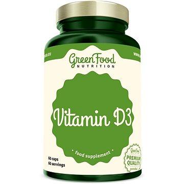 GreenFood Nutrition Vitamín D3 60cps (8594193920648)