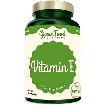 GreenFood Nutrition Vitamín E 60cps (8594193920402)