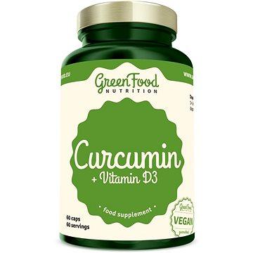 GreenFood Nutrition Curcumin + Vitamin D3 60cps (8594193920990)