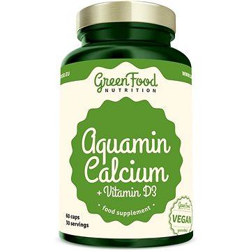 GreenFood Nutrition Aquamine + Vitamin D3 60 cps (8594193923946)