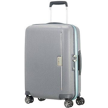 Samsonite MixMesh SPINNER 55/20 Grey/Capri Blue (5414847856228)