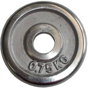 Acra Závaží chromové 0,75 kg / tyč 25 mm (8595042730340)