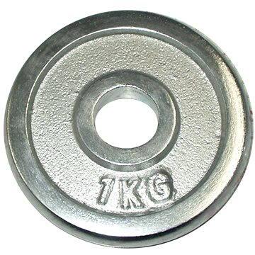 Acra Závaží chromové 1 kg / tyč 25 mm (8595042726787)
