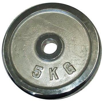 Acra Závaží chromové 5 kg / tyč 25 mm (8595042726800)
