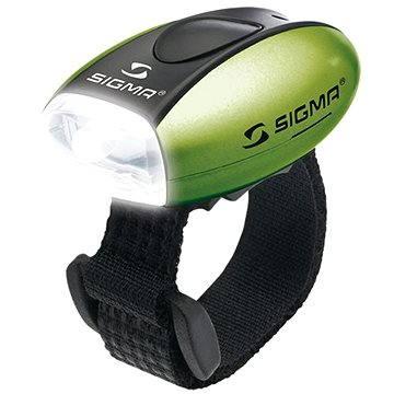 Sigma Micro zelená / přední světlo LED-bílá (4016224172399)