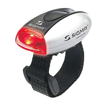 Sigma Micro stříbrná / zadní světlo LED-červená (4016224172344)