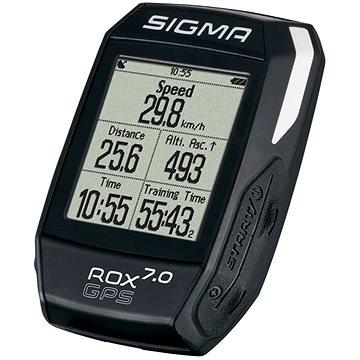 Cyklocomputer Sigma Rox 7.0 GPS černá (4016224010042)