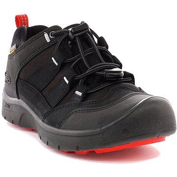 Keen Hikeport WP Jr. black/bright red EU 32/33 / 197 mm (191190416181)