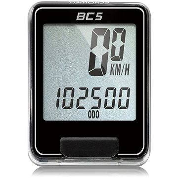 Cyklocomputer Echowell BC5 černý (5047231040004)