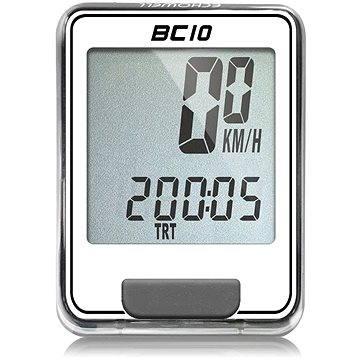 Cyklocomputer Echowell BC10 bílošedý (5047251780003)