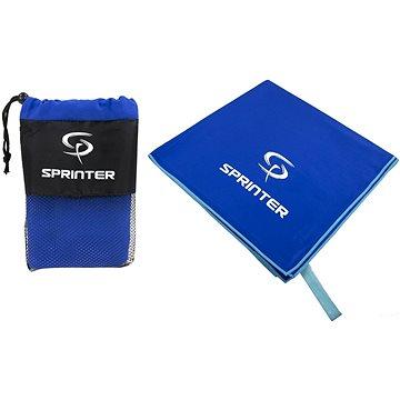 Sprinter - ručník z mikrovlákna 100 × 160 cm - modrý (8888880044145)