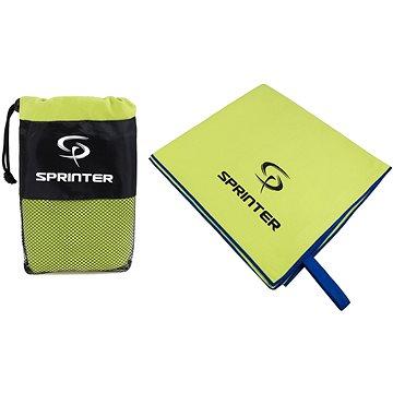 Sprinter - ručník z mikrovlákna 100 × 160 cm - zelený (8888880044152)