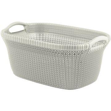 Curver koš na čisté prádlo Knit 40L krémový (03677-X64)