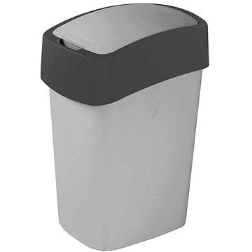 Odpadkový koš Curver odpadkový koš Flipbin 10L šedý/zelený (02170-686)