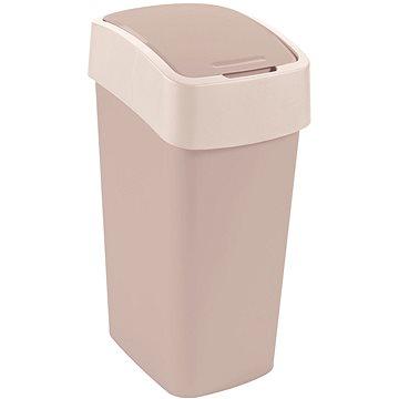 Odpadkový koš Curver odpadkový koš Flipbin 50L savanna (02172-844)