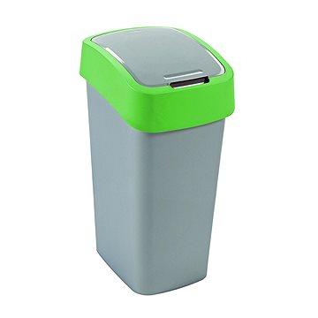 Odpadkový koš Curver odpadkový koš Flipbin 50L šedý/zelený (02172-P80)