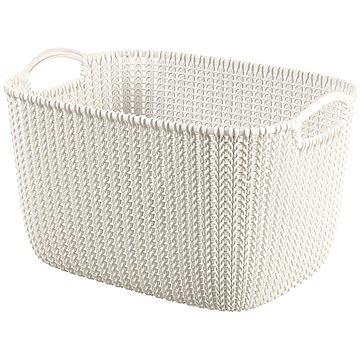 Curver Knit košík 19L krémový (03670-X64)