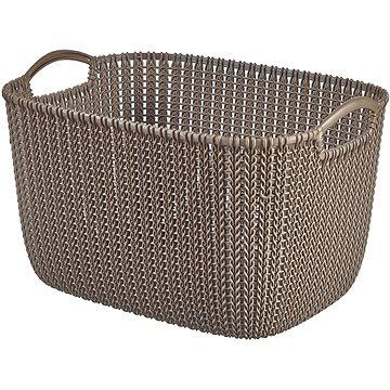 Curver Knit košík 19L hnědý (03670-X59)