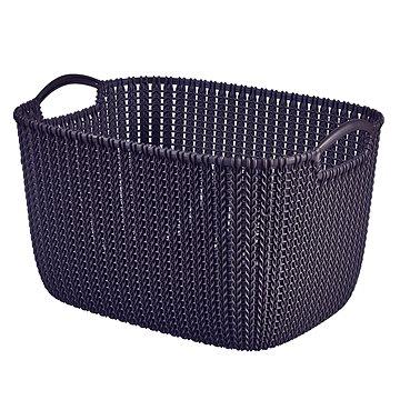 Curver Knit košík 19L fialový (03670-X66)