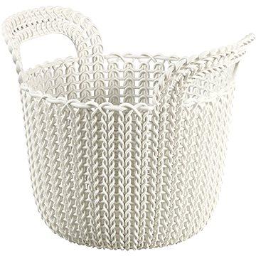 Curver Knit košík kulatý 3L krémový (03671-X64)