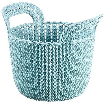 Curver Knit košík kulatý 3L modrý (03671-X60)