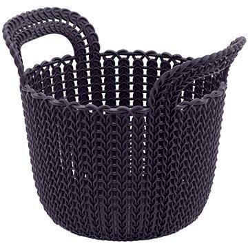 Curver Knit košík kulatý 3L fialový (03671-X66)