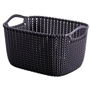 Curver Knit košík kulatý 8L fialový (03674-X66)