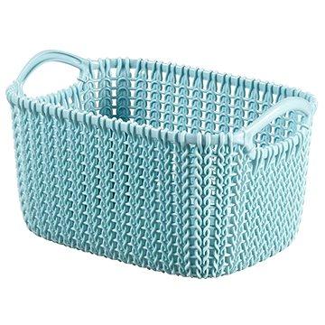Curver Knit košík 3L modrý (03675-X60)