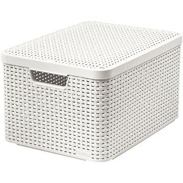 Curver Style box s víkem L krémový s víkem 03619-885 (03619-885)