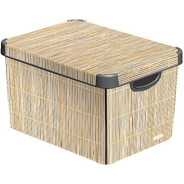 Curver Decobox - L - Bamboo (04711-D67)