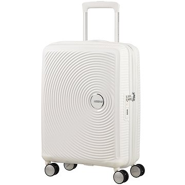 American Tourister Soundbox Spinner 55 Exp Pure White (5414847772078)