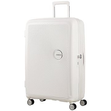 American Tourister Soundbox Spinner 77 Exp Pure White (5414847772191)
