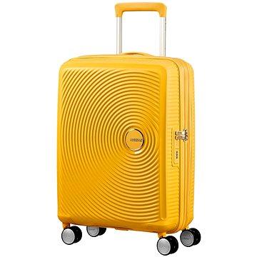 American Tourister Soundbox Spinner 55 Exp Golden Yellow (5414847854095)