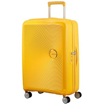 American Tourister Soundbox Spinner 67 Exp Golden Yellow (5414847854149)