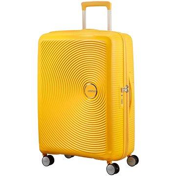 American Tourister Soundbox Spinner 77 Exp Golden Yellow (5414847854194)