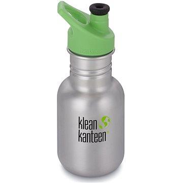 Klean Kanteen Kid Classic w/Kid Sport Cap 3.0 - brushed stainless 355 ml (763332057448)