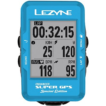 Lezyne Super GPS Special Edition - Blue (4712805992690)