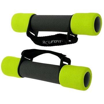 LifeFit Činky Plus 2 x 0.5 kg (4891223100396)