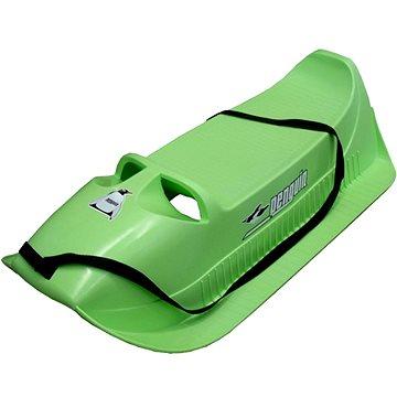 Acra Sáňky plastové Pinguin zelená (8595042723311)