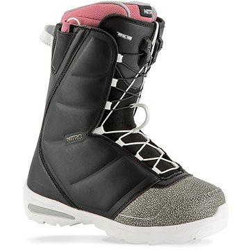 Nitro Flora TLS Black - Pink vel. 39 1/3 EU/ 255 mm (848459-002 255)